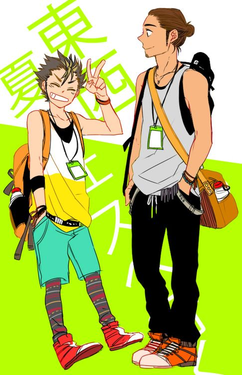 Haikyuu - Hipsterized haha nishinoya is the best and Asahi ...