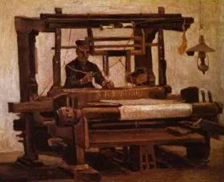 El Tejedor En El Telar 1884 Vincent Van Gogh Van Gogh Arte Pintor Van Gogh Postimpresionismo
