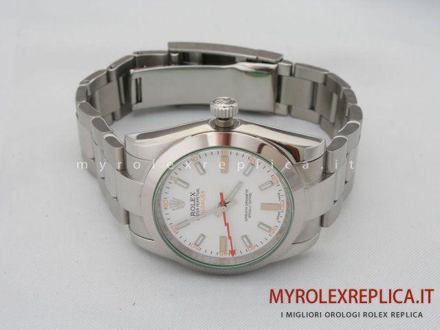 4d78dcaf3cb Rolex Milgauss Replica Quadrante Bianco
