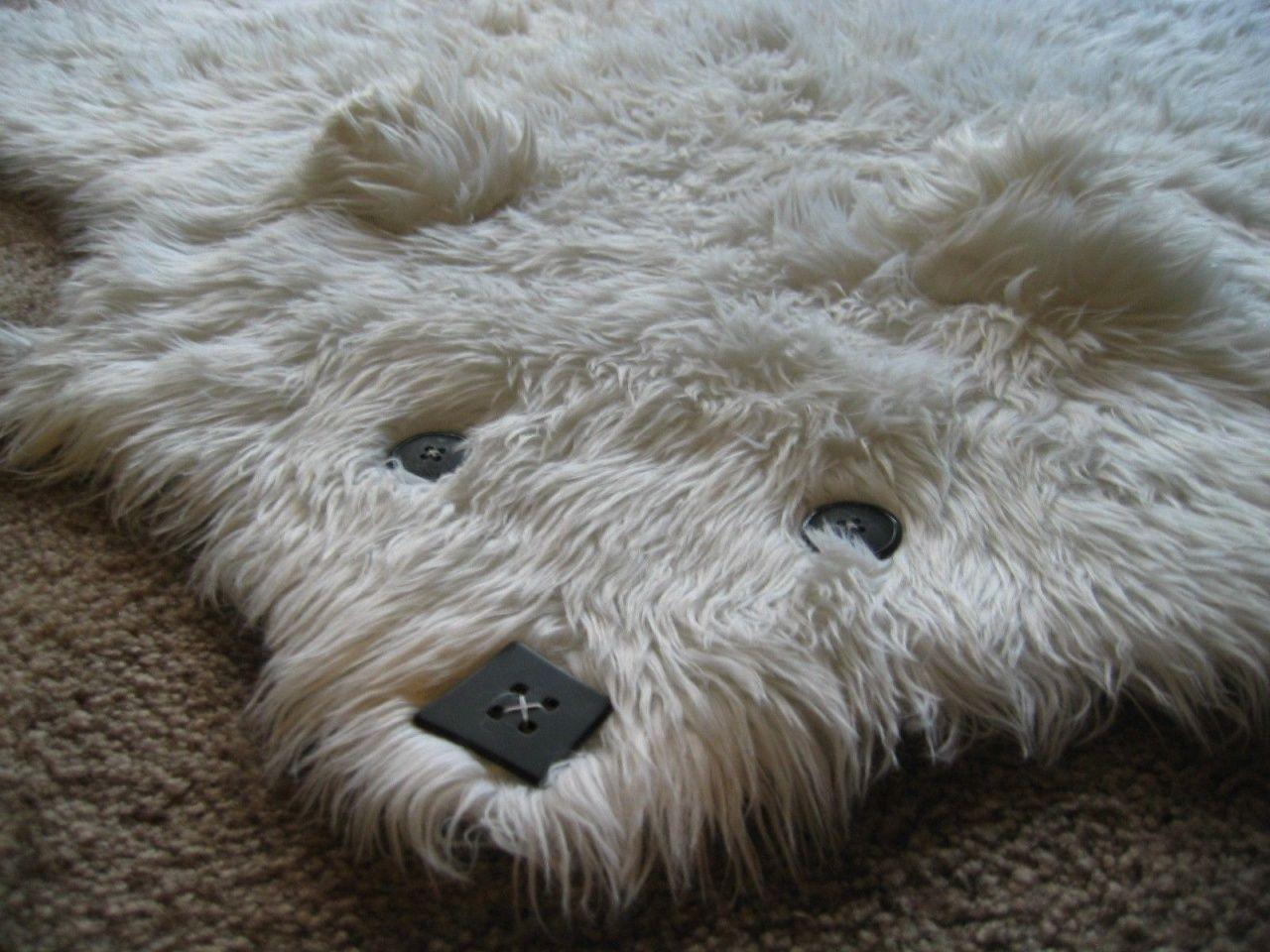How To Make A Bear Rug In 2020 Bear Rug Bear Skin Rug Faux Fur Rug