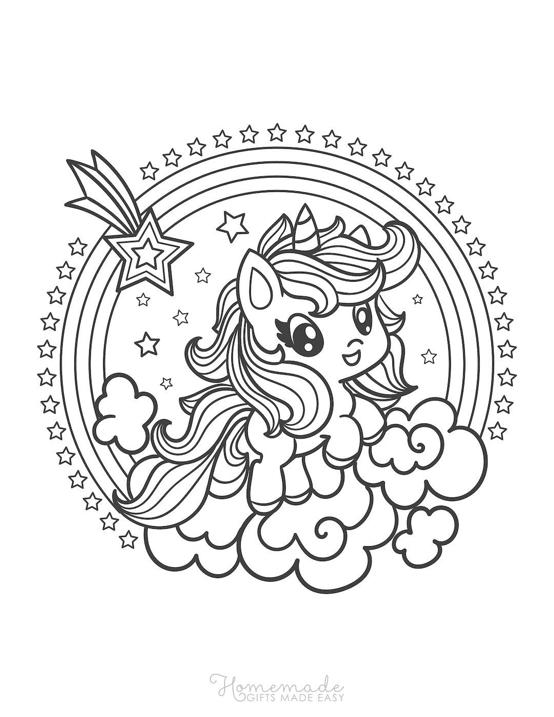 75 Magical Unicorn Coloring Pages For Kids Adults Free Printables Unicorn Coloring Pages Coloring Pages Love Coloring Pages