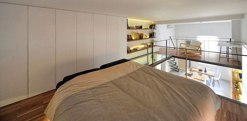 Loft 78 in Roma 40 qm Renovierte Wohnung von Maurizio
