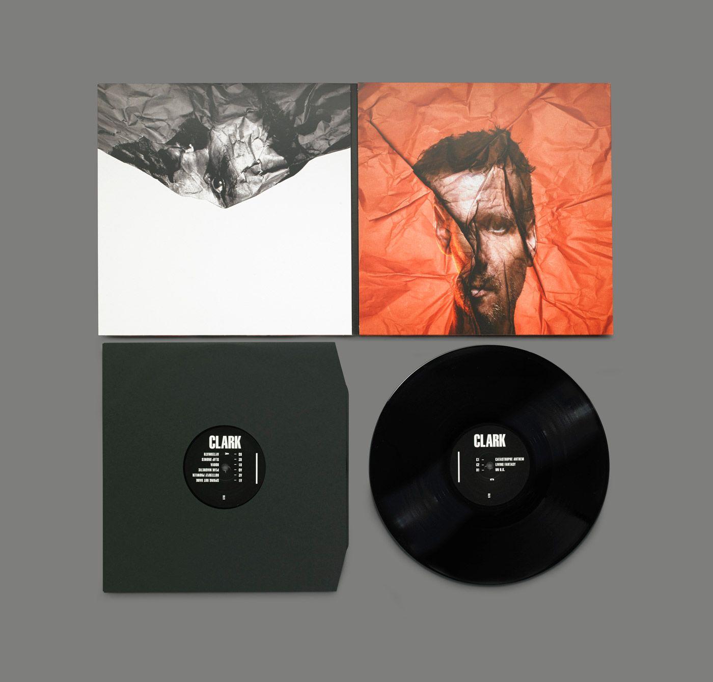 am besten auswählen Original- Farbbrillanz Warp musician Clark on the cover for new album Death Peak ...