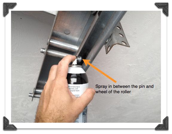Lubricating Garage Door Rollers Garage Door Maintenance Garage Door Rollers Garage Door Types