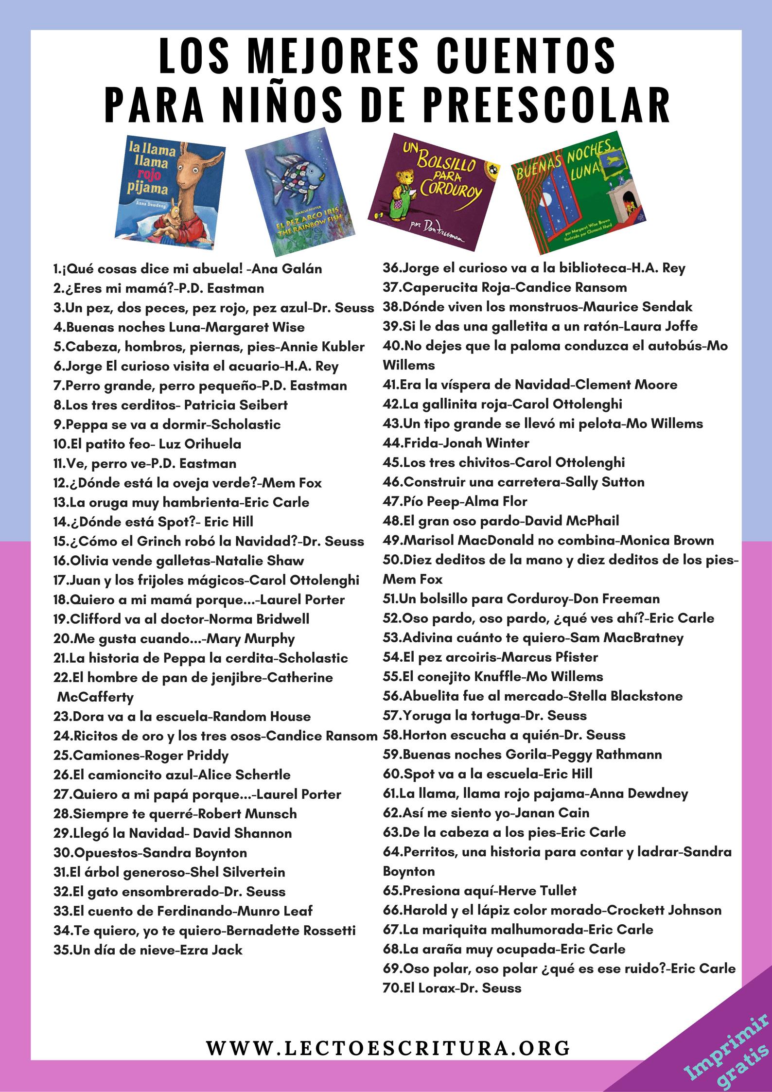 Mi Librería Preescolar | Spanish, Dual language and Language