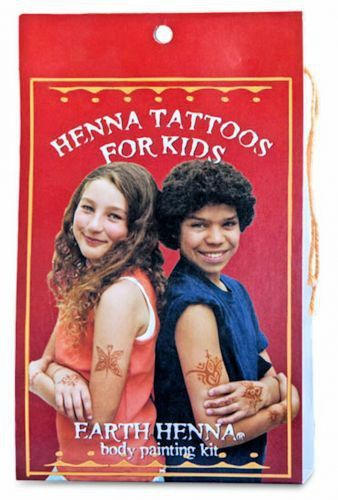 Henna Tattoo Kits For Kids: Kids Henna Tattoos Set