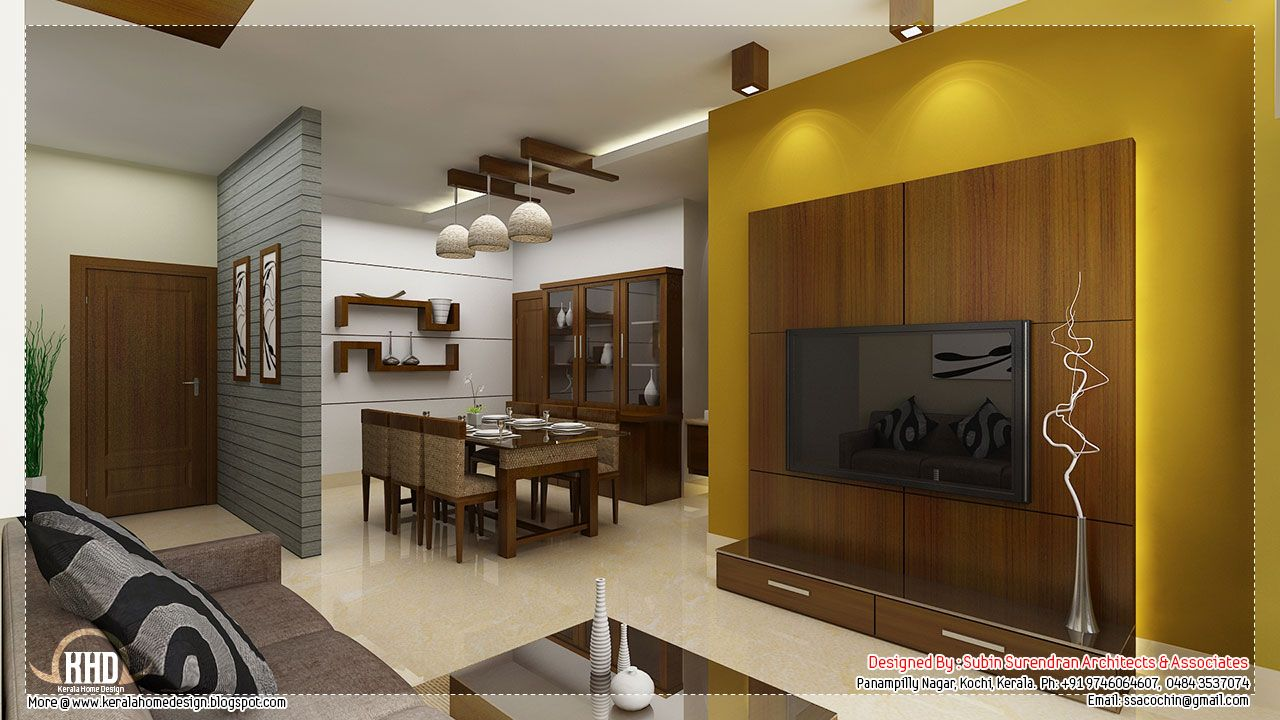Living Room Interior Design In Kerala living dining partition kerala - google search | interiors