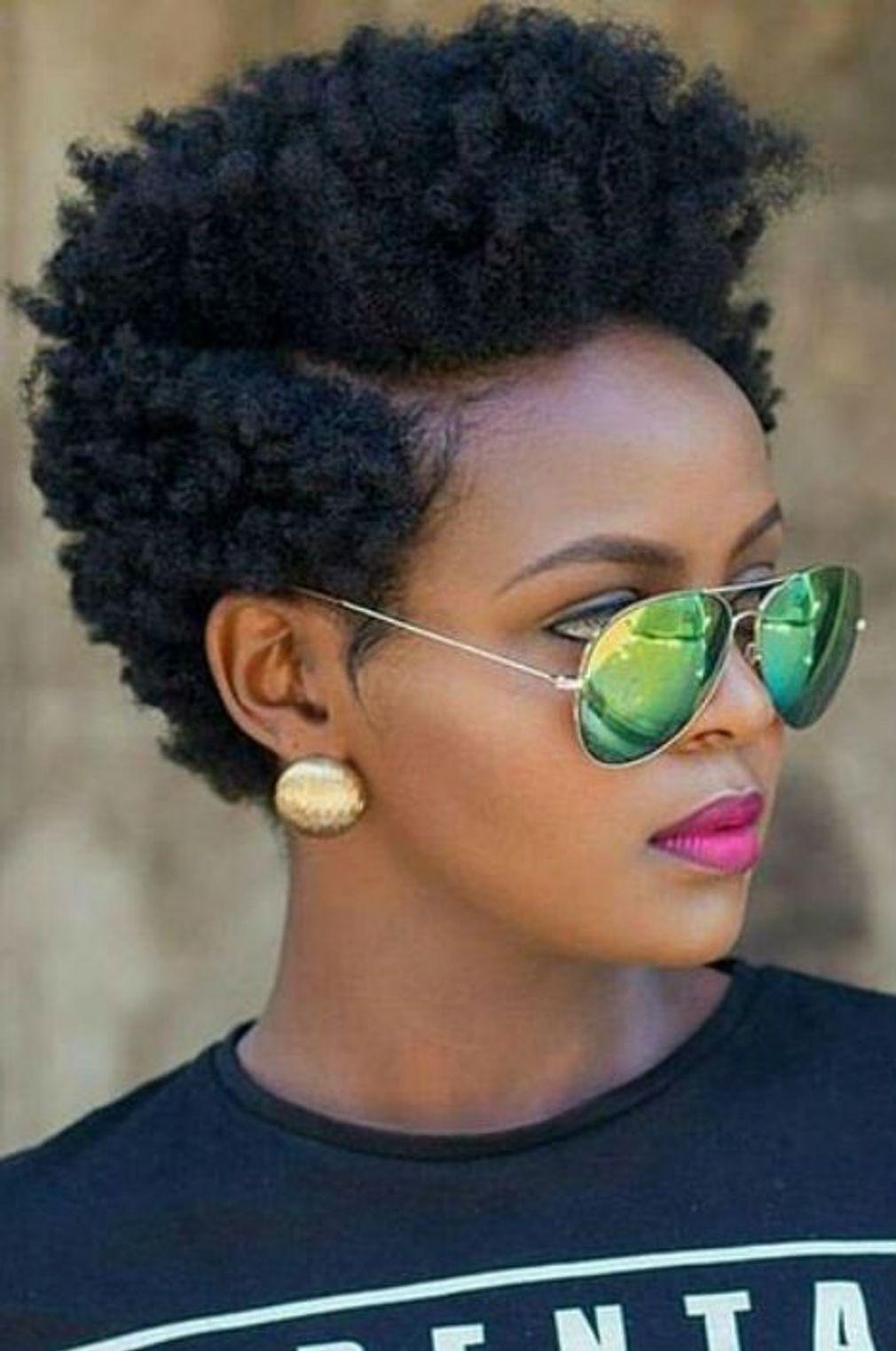 Coupe courte afro - Coupe courte 2019 : les plus belles coiffures courtes de la … - Cute Hairstyles