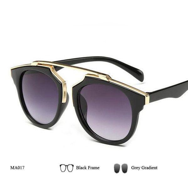 1d34c4fb90239 New Fashion Cat Eye Sunglasses Women Brand Designer Vintage Sun Glasses Men  Woman Uv400 Glasses Oculos De Sol Feminino