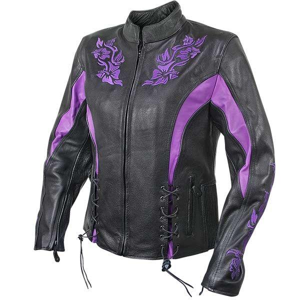 womens black purple armor