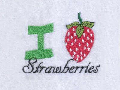 Strawberry Fun Machine Embroidery Designs Httpdesignsbysick