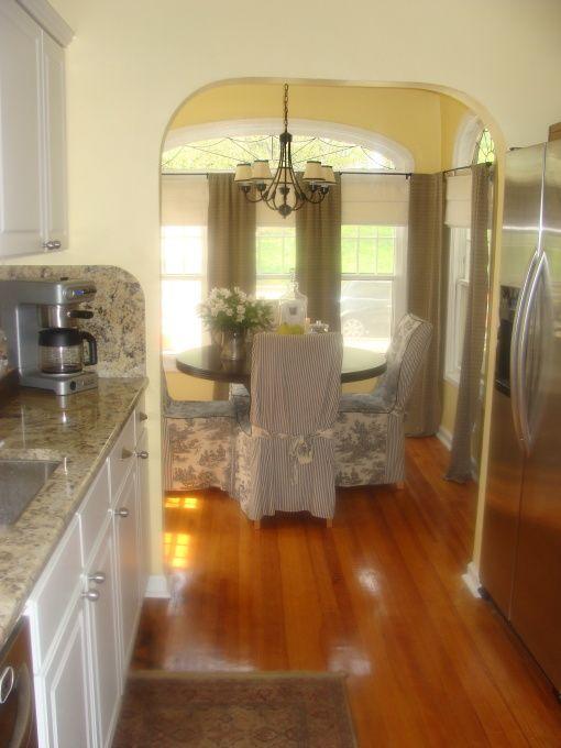 cozy efficient galley kitchen | ... galley kitchen into our cozy breakfast nook., Kitchens Design