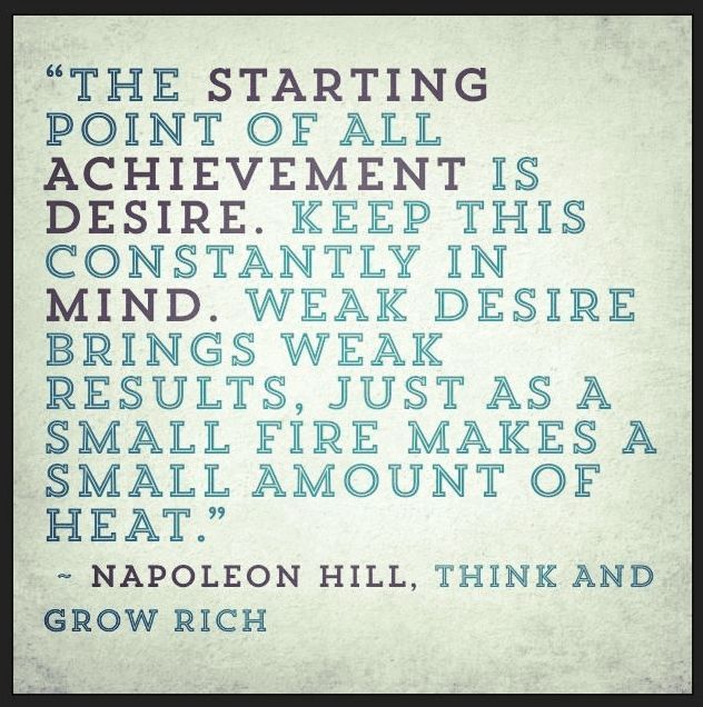 Inspirational Napoleon Hill Quotes From Think And Grow Rich Custom Think And Grow Rich Quotes