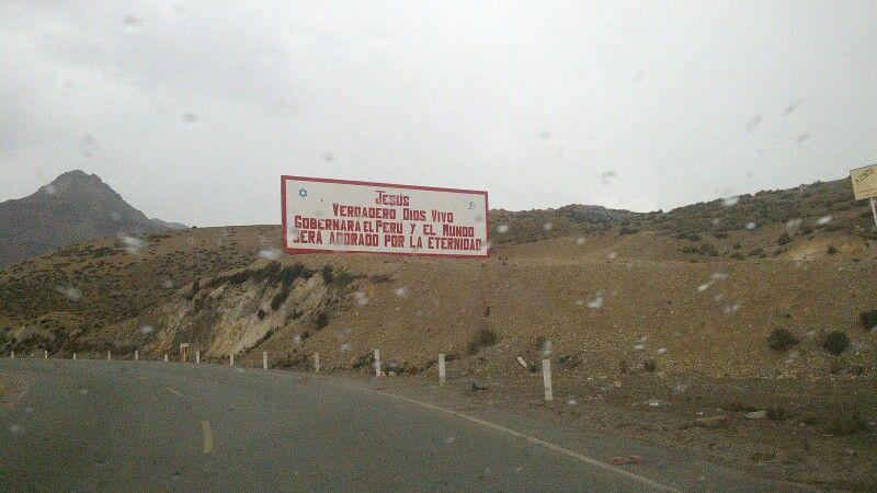 La verdad en lo más alto, Ticlio 4818 msnm