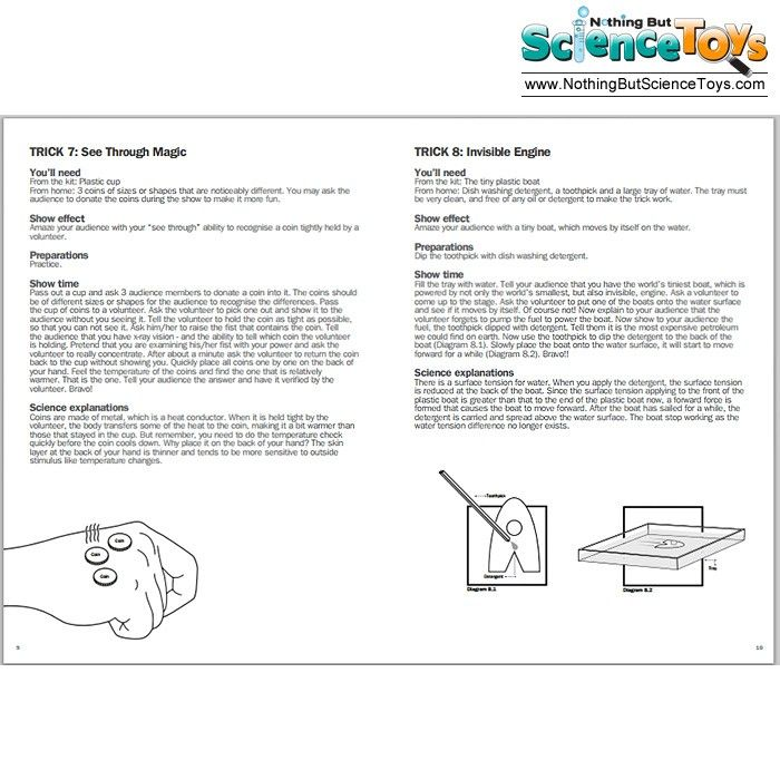 c51510066 ToySmith 4M Kidz Labs Science Magic Kit Tricks Set | Magic Tricks ...