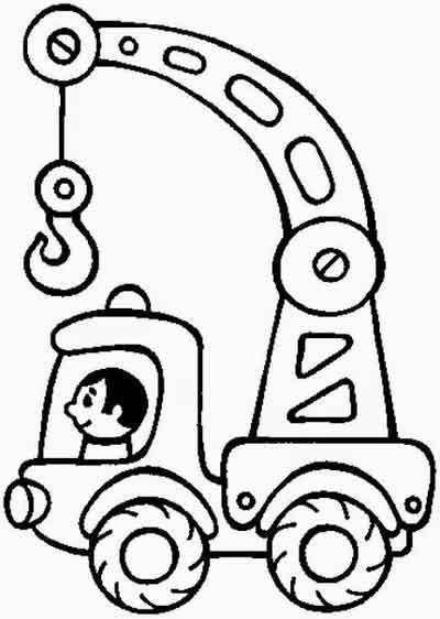 раскраски транспорт мама и малыш транспорт раскраски
