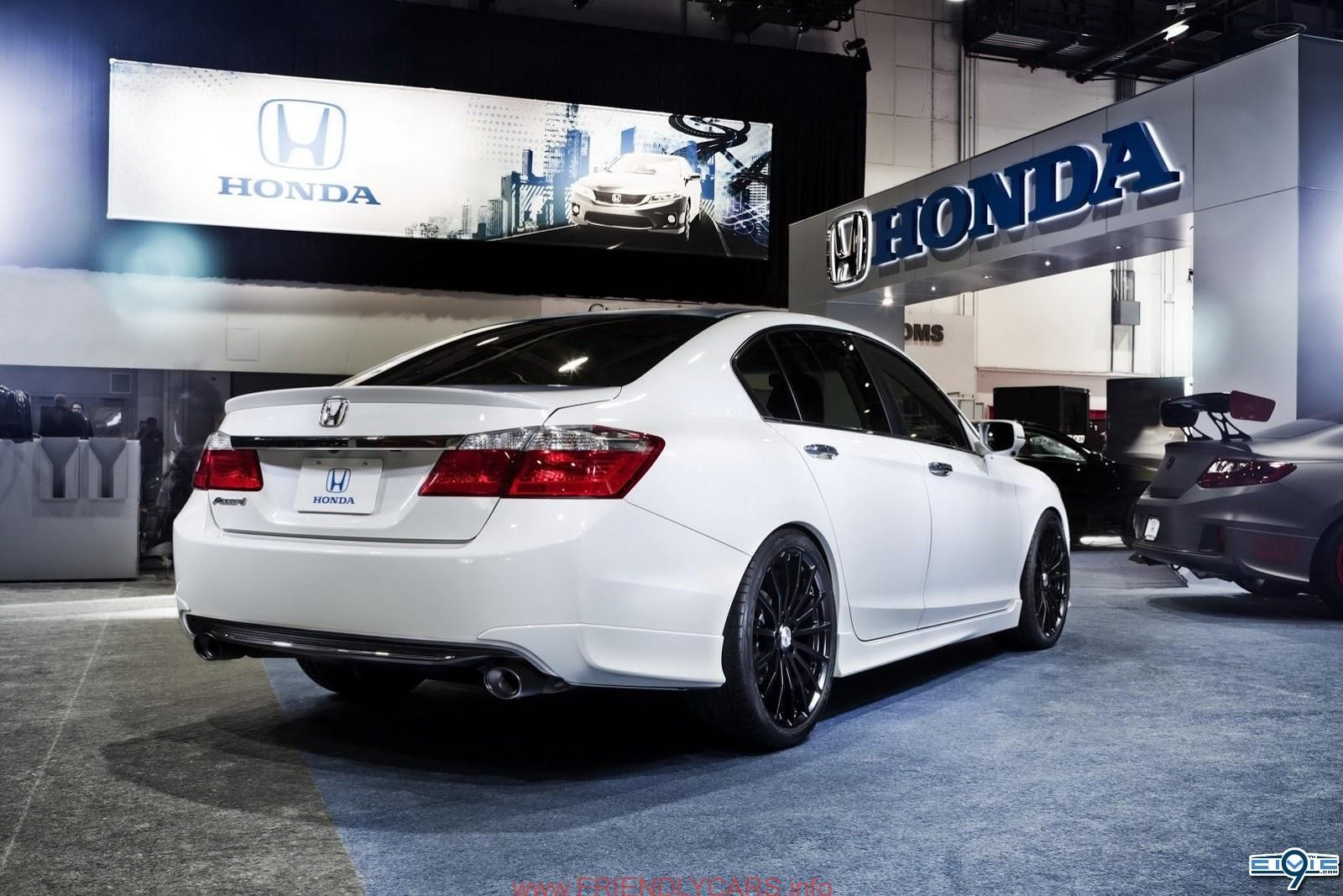 nice honda accord coupe white with black rims car images. Black Bedroom Furniture Sets. Home Design Ideas