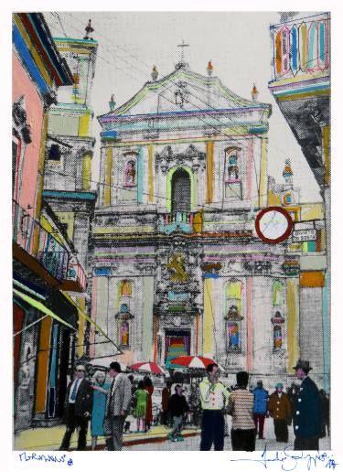 "Saatchi Art Artist Fabio Coruzzi; Painting, ""Meridione"" #art"