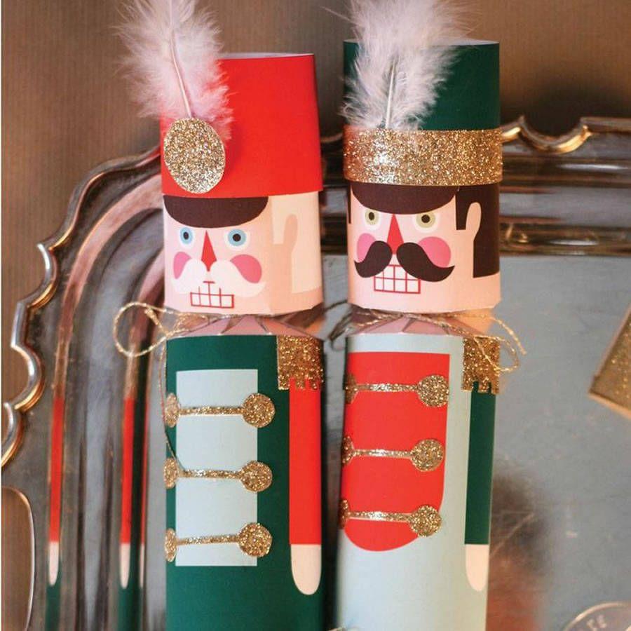 Diy Nutcracker Christmas Cracker Kit For 10 | Christmas crackers ...