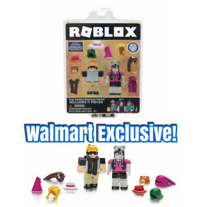 Roblox Top Roblox Runway Model Celebrity Game Pack By Jazwares