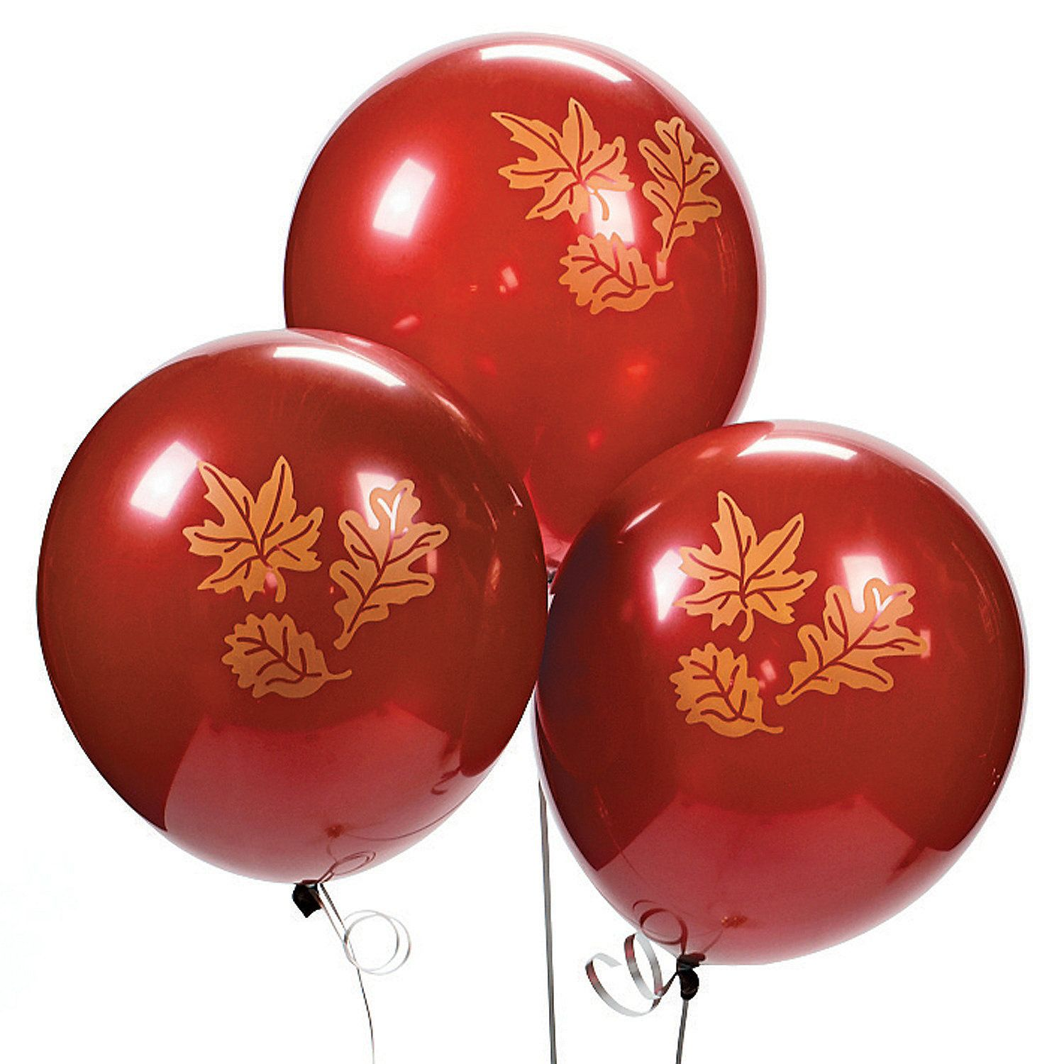 Fall print latex balloons orientaltrading wedding ideas