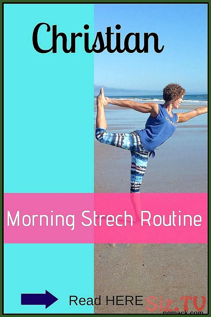 Yoga stretching routine combining faith and fitness Also a yoga warmup routine Daily prayer with a m...