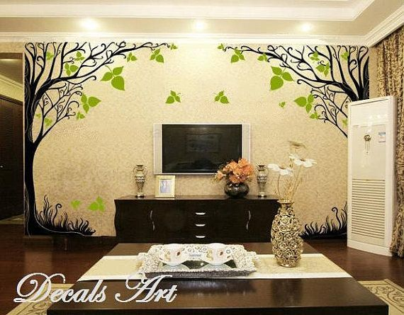 Autumn Tree Vinyl wall sticker wall decal tree by DecalsArt | Wall ...