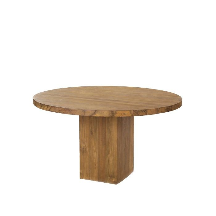 Round dining tables with glass top striking round dining for Best dining table material
