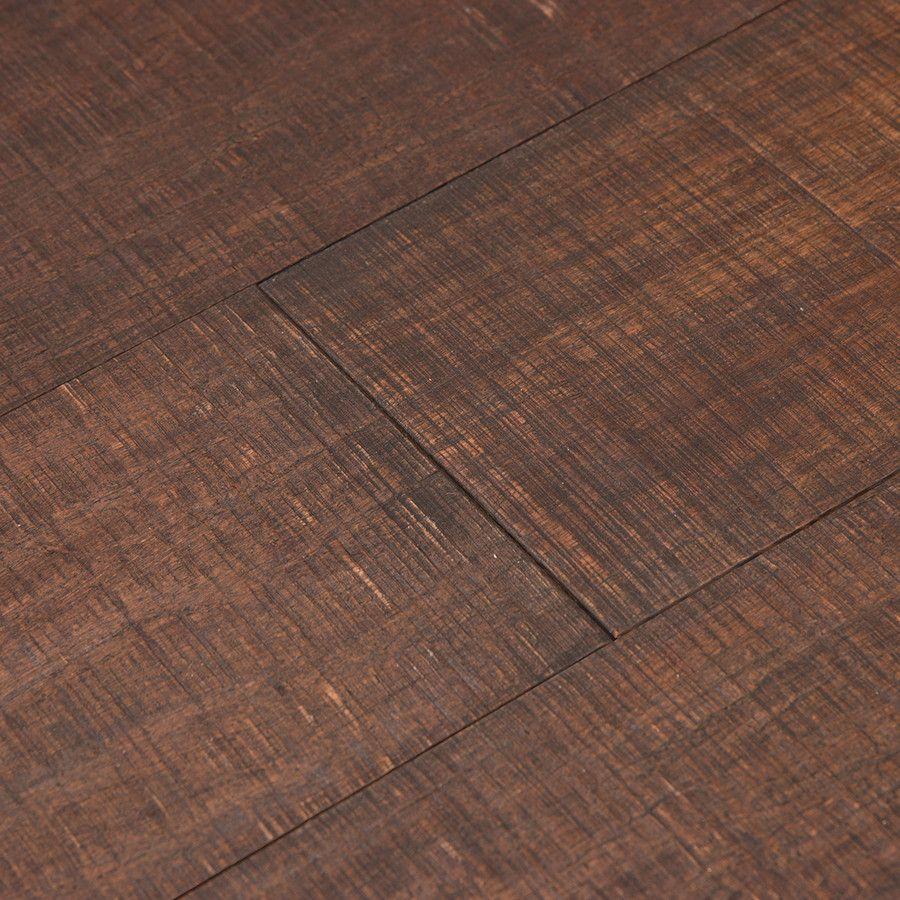 Cali Bamboo Fossilized 5 In Rustic Barnwood Bamboo Wirebrushed