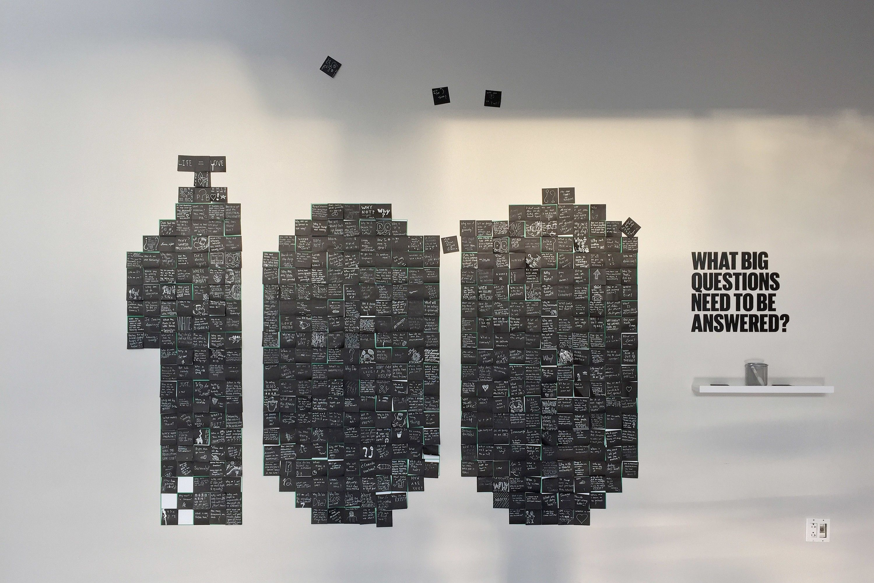 Identity, materials and lobby installation for YBCA\'s annual one-day ...
