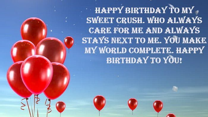 Birthday Wishes For Crush Girl How To Wish Birthday Birthday Wishes For Coworker Birthday Greetings For Mom