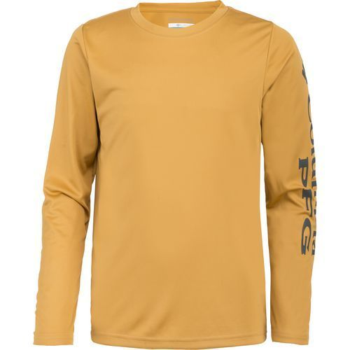 ab4b2619 Columbia Sportswear Boys' PFG Terminal Tackle Long Sleeve T-shirt (Yellow  Dark, Size X Small) - Boy's Apparel, Boy's Casual Tops at Academy Sports