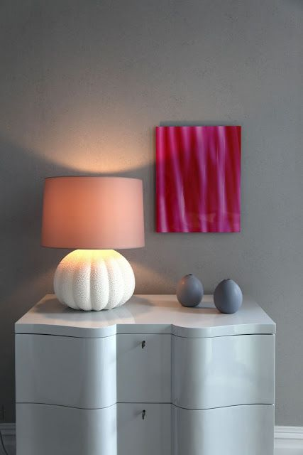 pink and gray....great combination that makes pink look not so sweet.