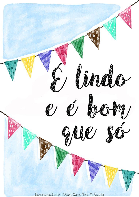 Download Pôster é Lindo E é Bom Que Só Festa Junina