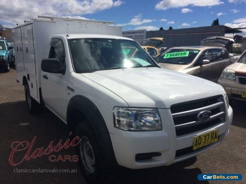 2007 ford ranger pj xl 4x4 white manual 5sp m cab chassis ford rh pinterest com ford ranger 2007 owners manual Ford Ranger Parts Catalog