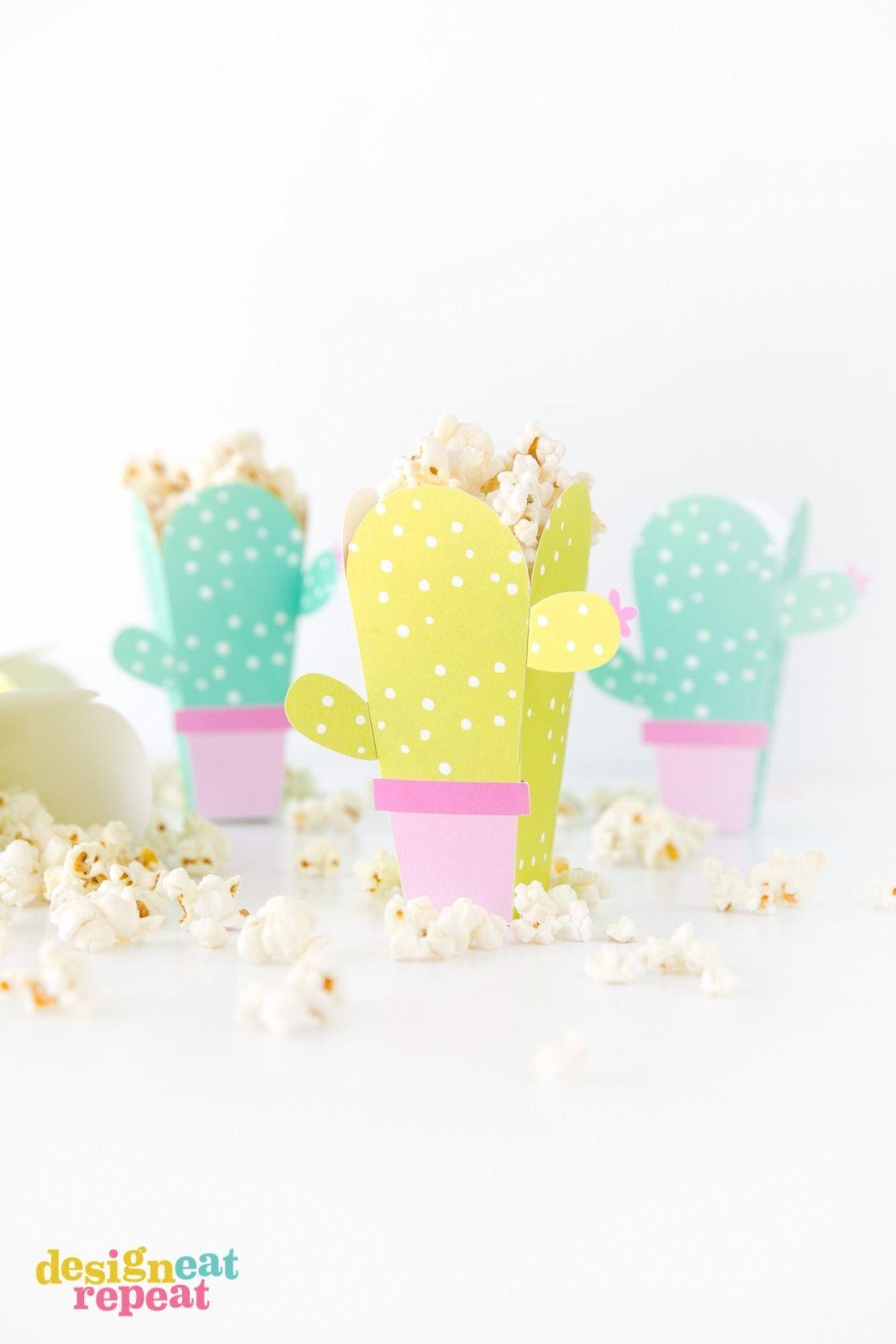 Popcorn template pdf