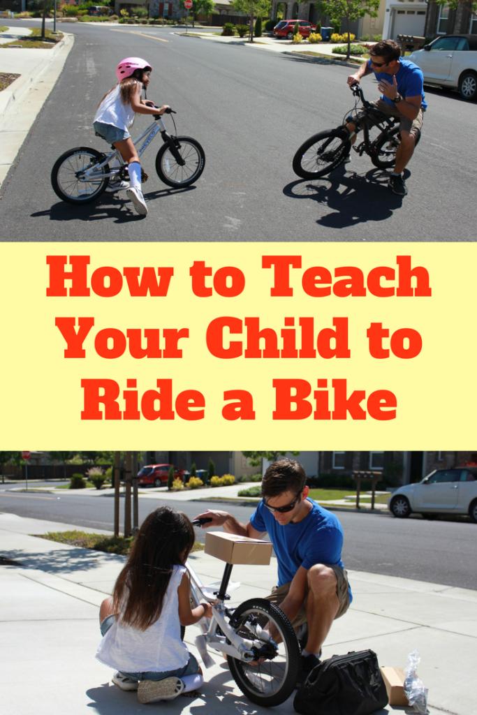 Teaching Your Child To Ride A Bike Bike Bike Ride Bike With