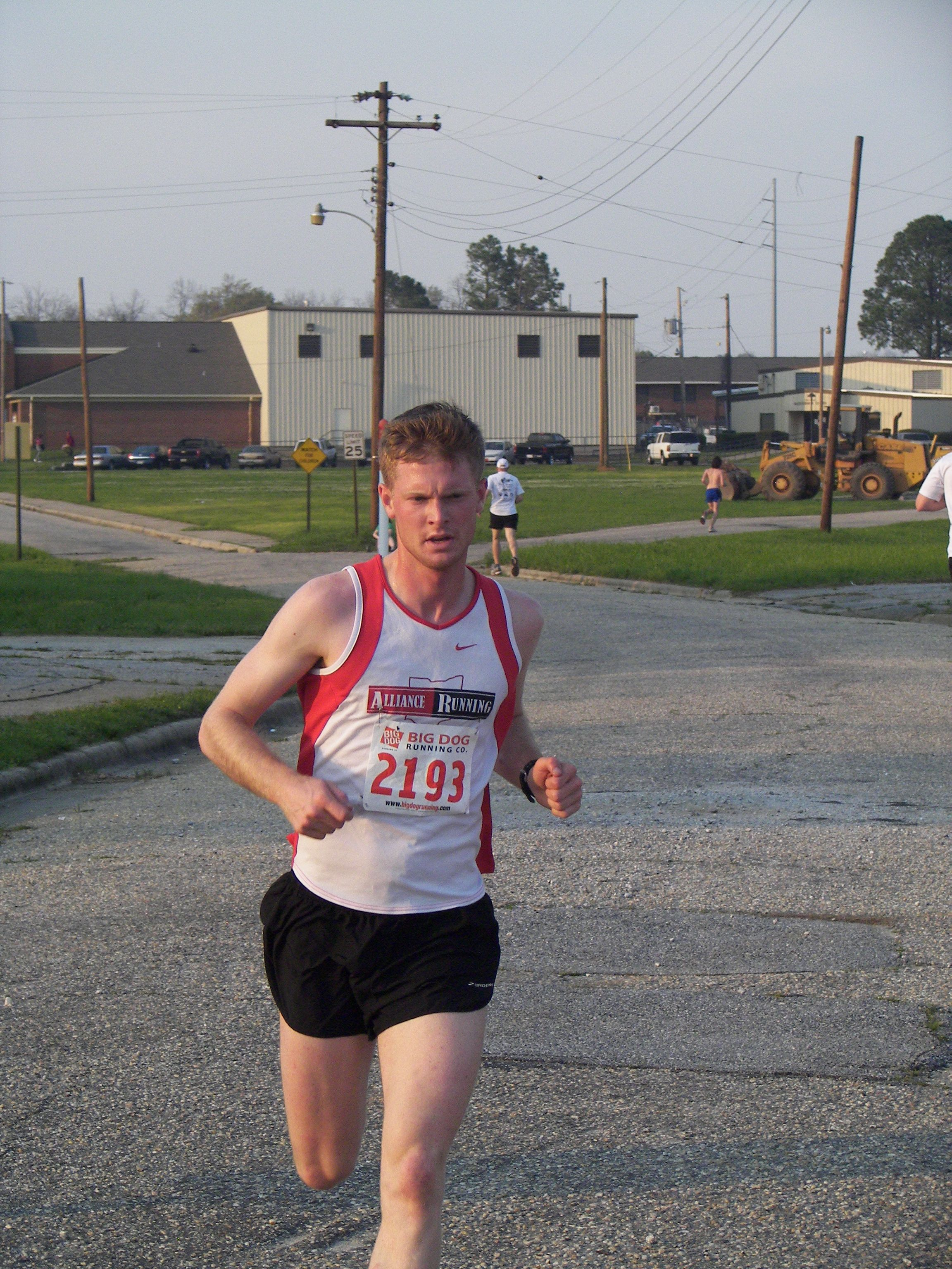 2012 St. Paddy's 5K Winner, Jacob Enke. Jacob finished in 16:32!