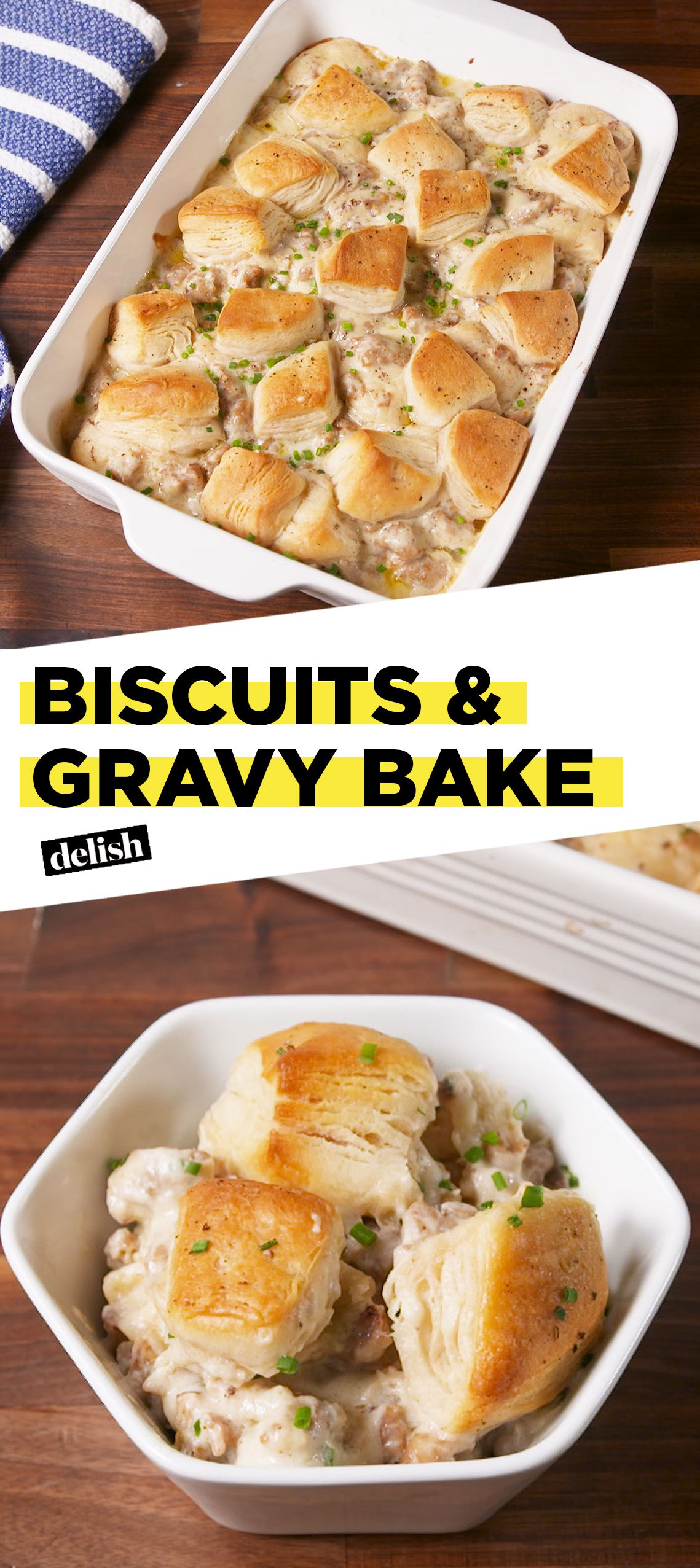 Biscuit And Gravy Bake Is Meant For Sunday Morning Recipe Biscuit And Gravy Bake Biscuits And Gravy Recipes