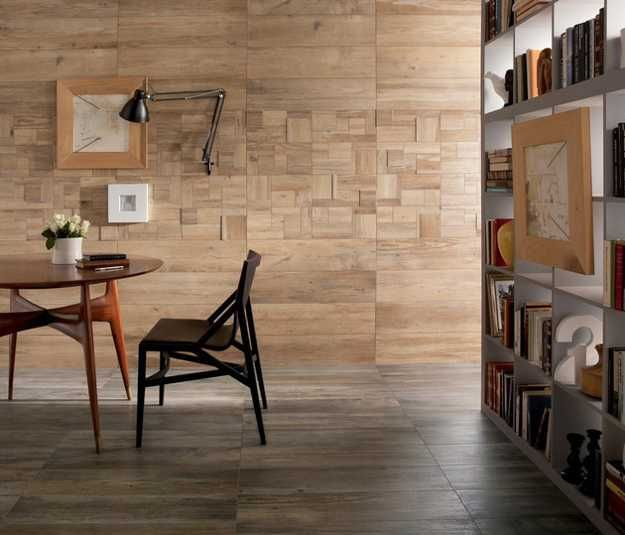 Modern Ceramic Tiles With Wood Look Offer Practical And Warm Interior Design Ideas Wood Interior Design House Interior Wood Look Tile
