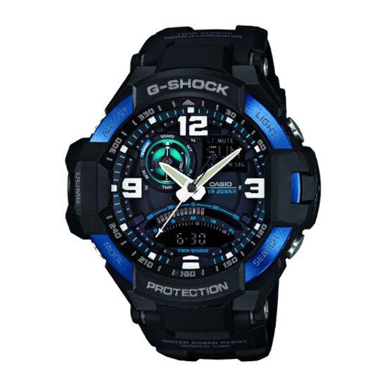 Casio - Men\'s G-Shock Alarm Chronograph Watch - GA-1000-2BER - RRP: £250.00 - Online Price: £212.00
