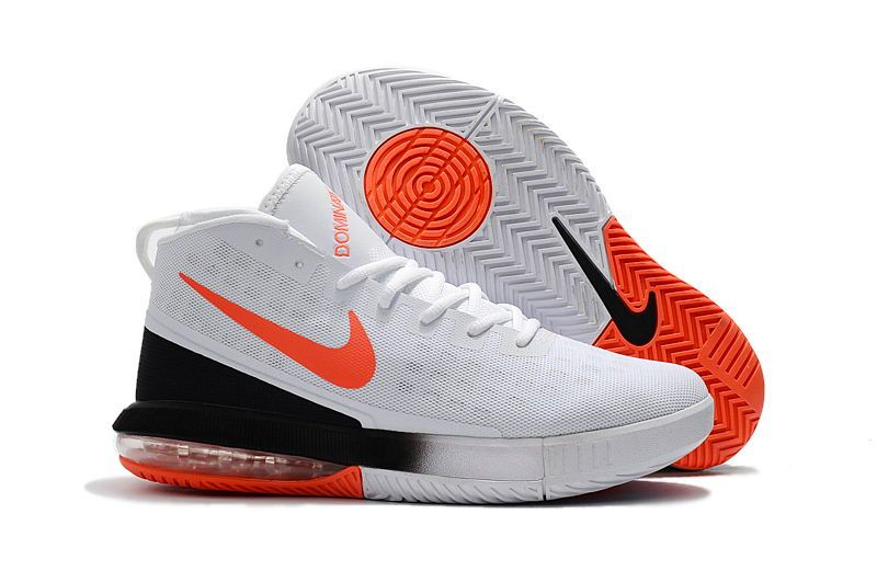 watch 17d5b 1b729 2018 Nike Air Max Dominate EP White Black Orange