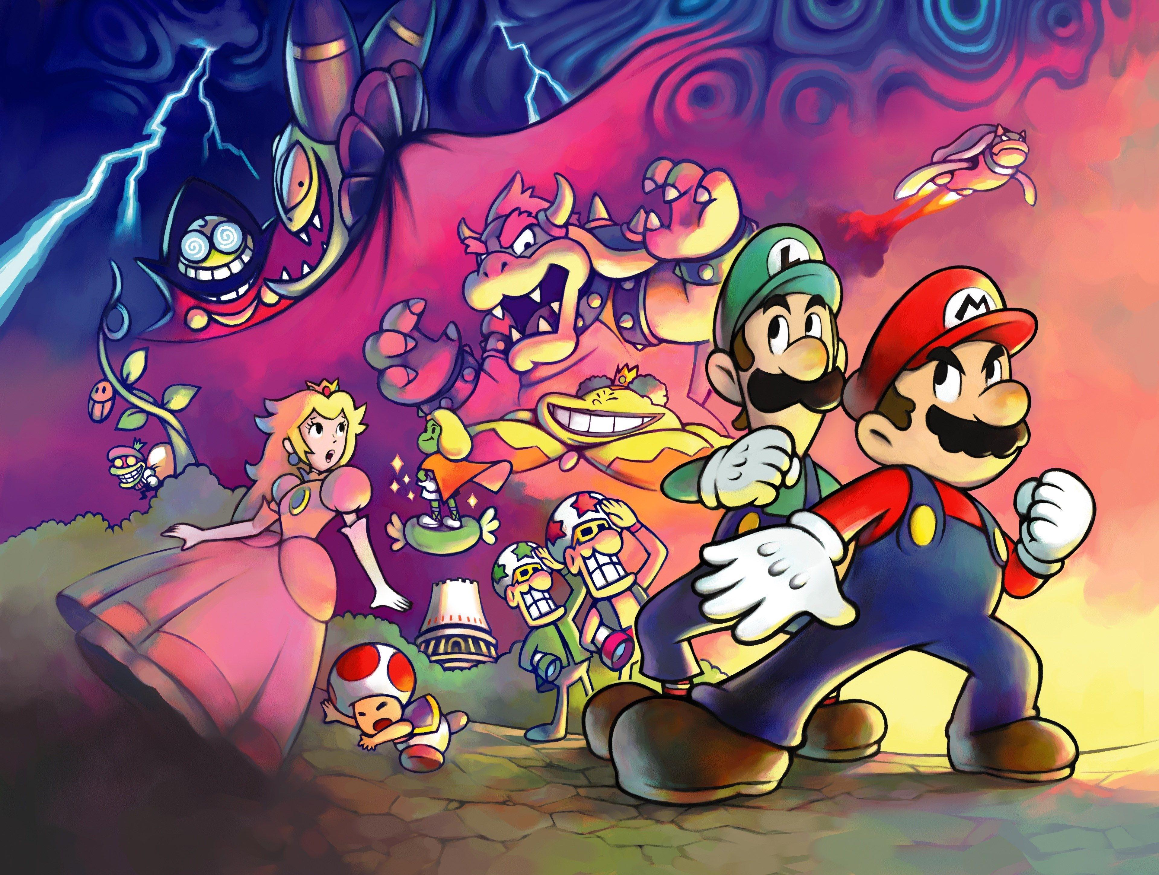 Super Mario Wallpaper 4k