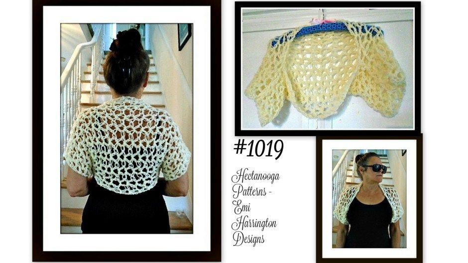 omg quick shrug 1019 free crochet pattern