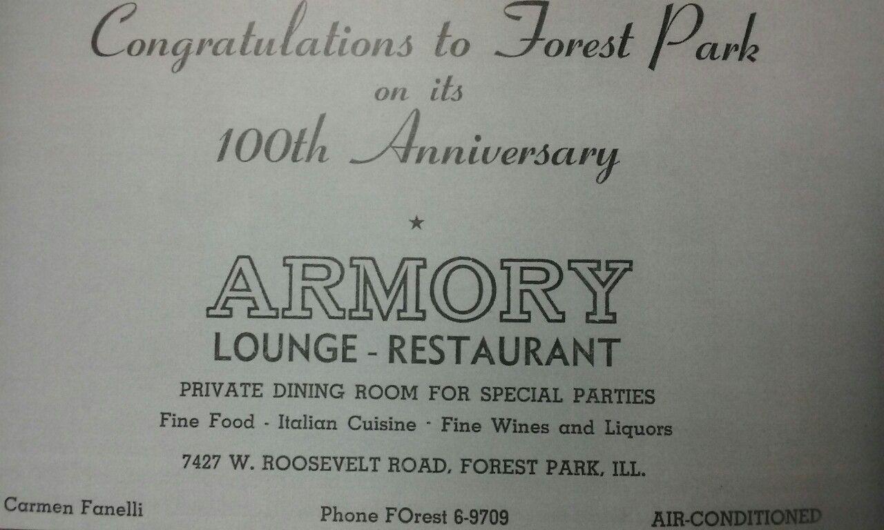 Sam Giancana S Headquarters Armory Lounge S Business Card With