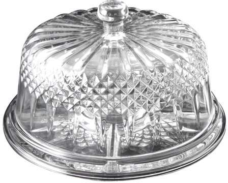 Home Cake Plate With Dome Gibson Home Cake Stand With Dome
