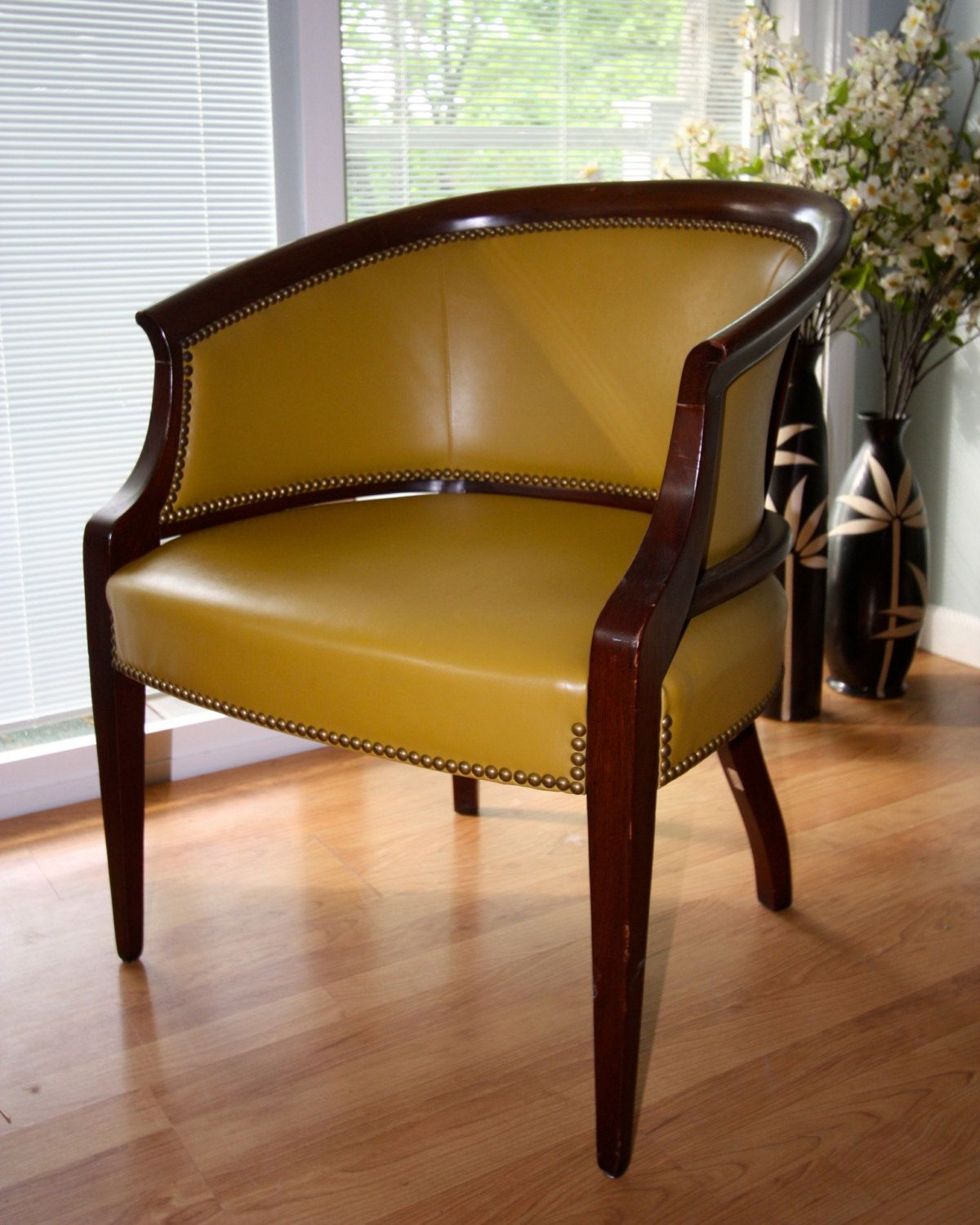 Set of 4 Hickory Chair Furniture Co. Tub Chairs circa 1975