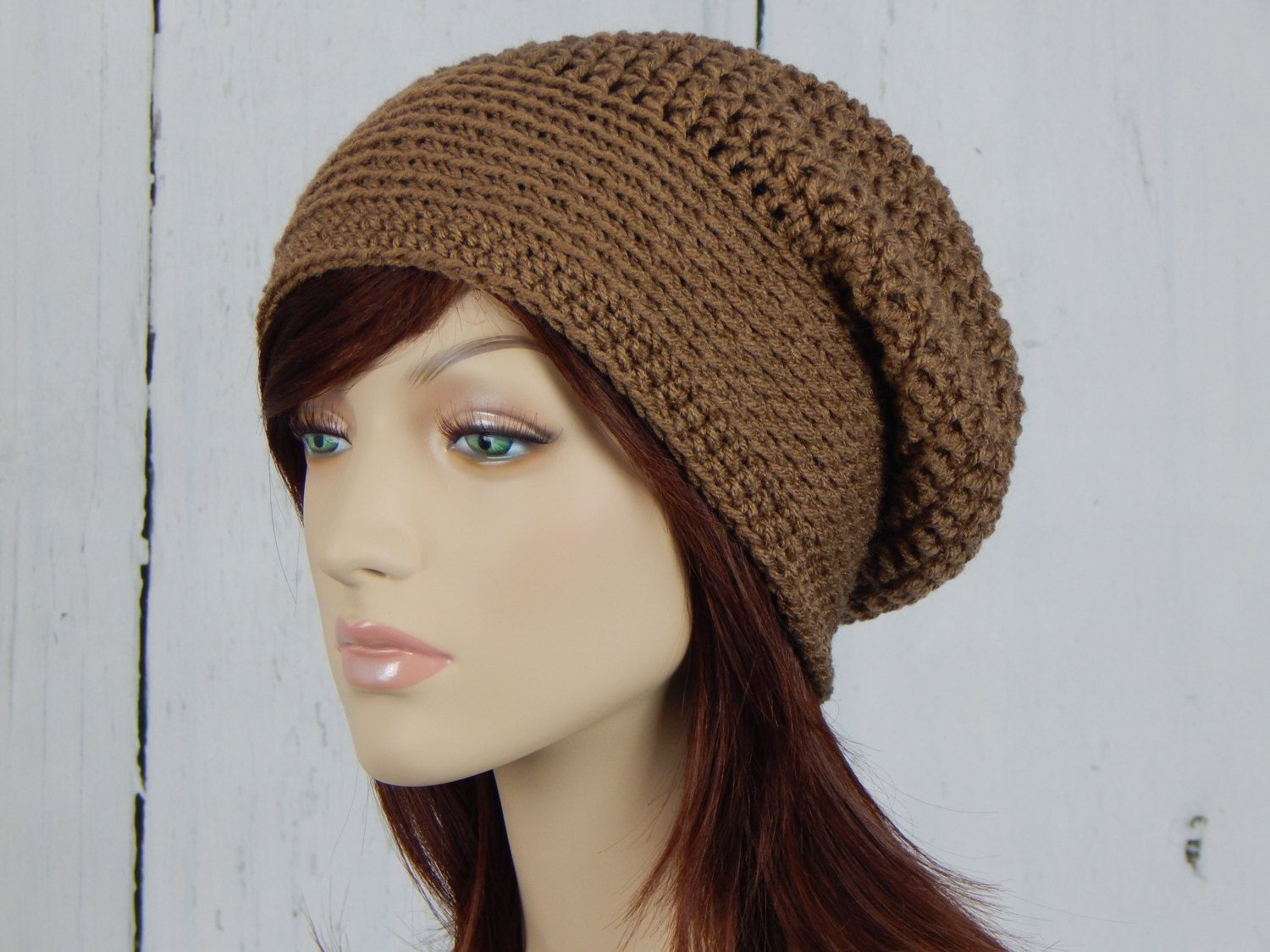 67ff9f8adfb Light Brown Slouch Hat