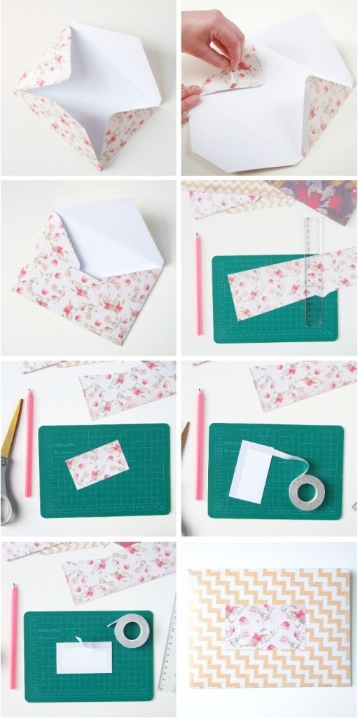 Top 15 Stylish scrapbook paper envelope - Make it Simple ...
