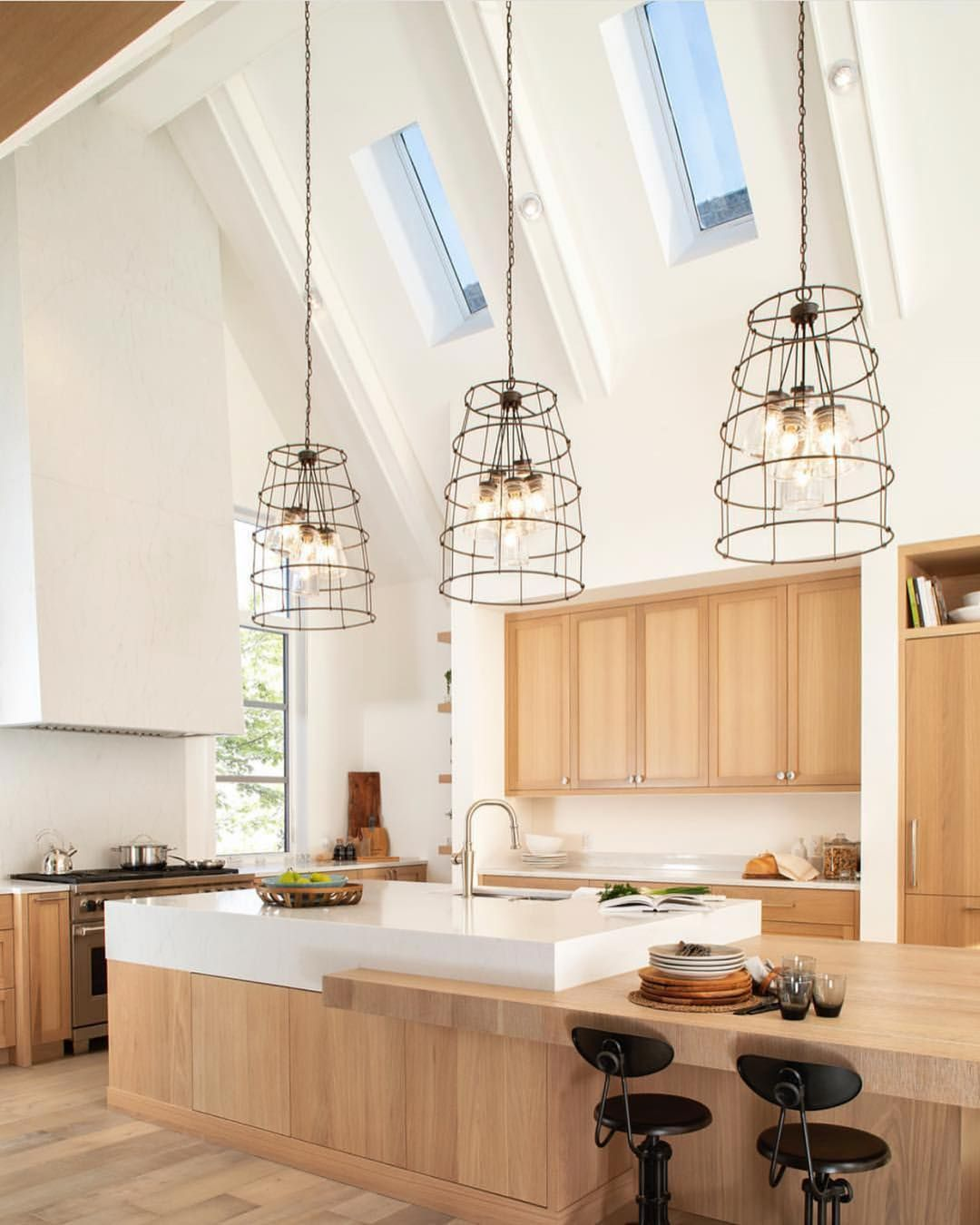 30 Gorgeous Kitchen Lighting Ideas Modern Light Fixtures With